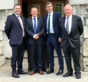 Paul  Farrell, Ciaran O'Hare, Senator Mark Daly, Fianna Fáil, and Sean DalyPaul  Farrell, Ciaran O'Hare, Senator Mark Daly, Fianna Fáil, and Sean Daly