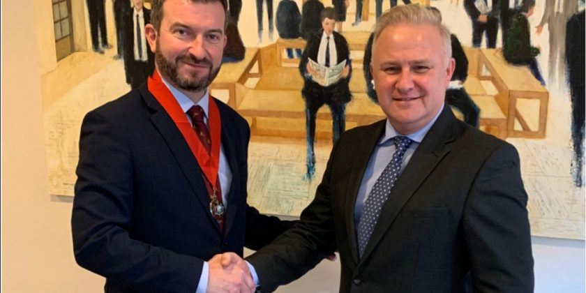 Ciaran Maguire elected chair of Belfast Solicitors' Association